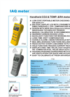 AZ-Instrument - 77535 - CO2/Temp./RH Meter  Brochure