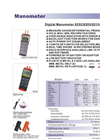 AZ-Instrument- - 8252 - 2psi Manometer Brochure