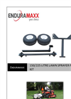 Enduramaxx - 150/225 Litre - Lawn Sprayer Frame Kit - Brochure