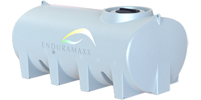 Enduramaxx - Model 6000 Litre (171040) - Baffled Horizontal Tank for Drinking Water to Liquid Fertilser