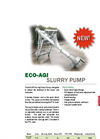 Model MJ - Slurry Agitator Pumps Brochure