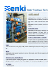 Industrial Sand Filter Datasheet