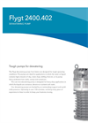 Flygt - Model 2400 - Pump Brochure