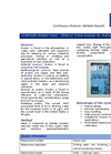 Online Analyser for Arsenic Brochure