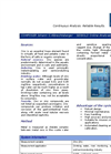Online Analyser for Zinc Brochure