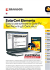 SolarCert Elements Solar PV Software