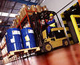 Spill containment for warehousing / chemical storage