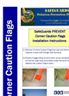 SafeGuards PREVENT Corner Caution Flags