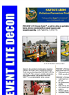 SafeGuards PREVENT Lite Decon Berms