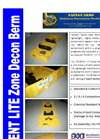 SafeGuards PREVENT Lite Zone Decon Berms