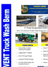 SafeGuards PREVENT Truck Wash Berms