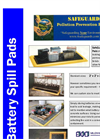 SafeGuards Battery Spill Pads