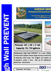 SafeGuards PREVENT - Portable Large Spill Containment Systems - Data Sheet