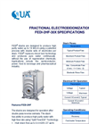 QUA - Model FEDI-2HF-30X - Fractional Electrodeionization - Brochure