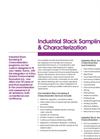 Industrial Stack Sampling & Characterization Brochure