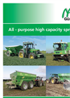 High Capacity Fertiliser and Lime spreader- Brochure