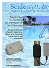 Scalewatcher - Electronic Swimming Pool Conditioner System Brochure