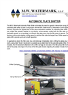 Automatic Plate Shifter Brochure
