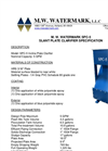 Model SPC-5 - Slant Plate Clarifier Brochure