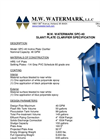 Model SPC - 40 - Slant Plate Clarifier Brochure