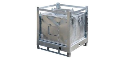 240 litre IBC Metal Galvanised Container