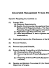 Integrated Management System Policy