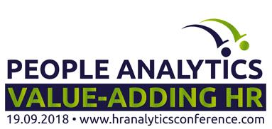 The People Analytics Value-Adding HR Conference 2018