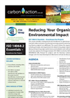 Carbon Reduction (ISO 14064-2) Course Brochure
