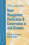 Water Management, Purificaton, and Conservation in Arid Climates, Volume III: Water Conservation