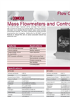 Mass Flowmeters and Controllers Brochure