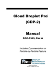 Model CDP-2 - Cloud Droplet Probe Manual