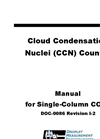 Model CCN-100 and CCN-200 - Cloud Condensation Nuclei Counter Manual