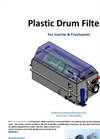 Drum Filter for Marine and Freshwater Filtration – Leaflet