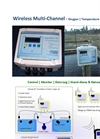 Wireless Solar Powered Multi-channel Oxygen & Temperature Monitor – Leaflet