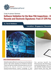 Software Validation for the New FDA Inspections
