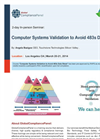 Computer System Validation