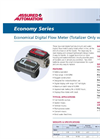 Economy Series - Electronic Water Meters Datasheet