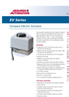 EV Series - Compact Electric Valve Actuators Datasheet