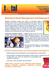 Biohazard Waste Management and Disposal Services Brochure