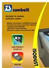 Zambelli - Sampler for Wireless Isokinetic System Datasheet
