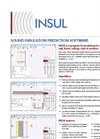 INSUL - Sound Insulation Prediction Software Datasheet