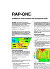 RAP-ONE - Version 5.0 - Room Acoustics and Occupational Noise Software Datasheet