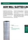Alpha - Model ASW - Rod Based Wire Wrapped Sand Screens Brochure