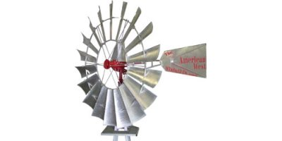 Model 702 - Complete Water Pumping Windmill Head