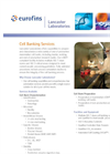 Cell Banking Services Brochure