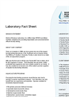 Lab Fact Sheet- Brochure