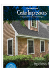 CedarLife - Shake and Shingle Siding- Brochure