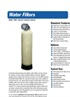 Whole House and Upflow Filters Brochure