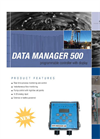 Data Manager - Model 500 - Programable Display / Controller Brochure