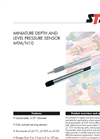 MTM/N10 Miniature Depth and Level Pressure Sensor Brochure